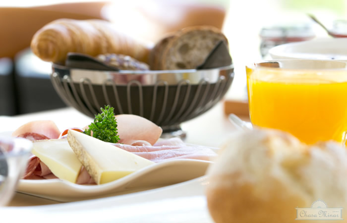 Frühstück im B&B Chasa Minar, Scuol