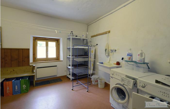 Waschküche, Ferienwohnung Chasa Minar, Scuol